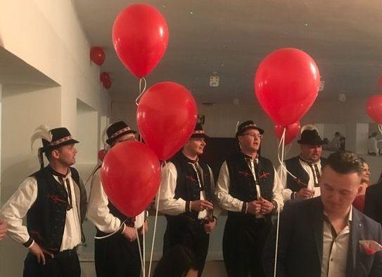 Valentínska zábava v Seni